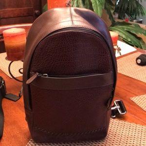 Coach shoulder backpack